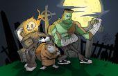 Monstres de Graveyard Halloween