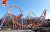 "Knex Roller Coaster, ""Speed Of Sound"" [Test photos + vidéo] [Cancelt]"