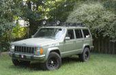Comment votre jeep la peinture en aérosol et faire un véhicule d'assaut