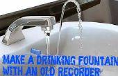 Évier de fontaine d'eau potable hack