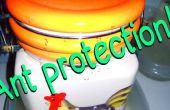 Protéger mes bouteilles de sucre de fourmis !
