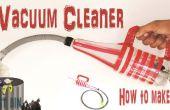 Comment faire l'aspirateur à l'aide d'une bouteille en plastique à la maison