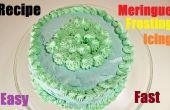 Comment faire le glaçage glaçage Meringue