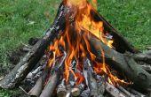Construire un feu de camp