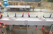 Installation de la lumière de Noël pour les fenêtres de vinyle
