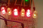 Lumières de Noël LED Arduino mini
