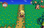Les chemins de terre in French - Animal Crossing City Folk (Wii)