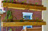 Projet de palette inspirée ! Rendre les jardins suspendus de palette-sur semoir