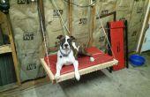 20 $ sur le sol plier tenture lit pour chien (chien de 65lb)