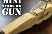 Mini pistolet allumette - le pistolet de poche de pince à linge