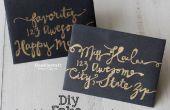 Comment faire semblant de Script calligraphie !