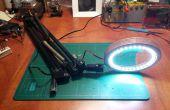 Lampe loupe de bureau bricolage LED