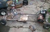 Électrique Go Kart de vieux Trash (sur un Budget)