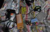BRICOLAGE | Crâne gothique & Spike clouté collier de chien (avec aucune couture)