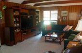 Couvrant les boiseries (rénovation de la salle familiale)