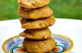 Cookies de citrouille calorie 42