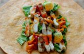 Buffalo Chicken salade encapsule