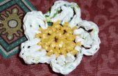 Fleurs de sacs en plastique. 3 idées / Flores con Bolsas. 3 idées