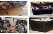 DIY BOOMBOX (réutilisation de stéréo de voiture)