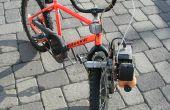 Comment faire pour attacher un moteur de souffleur de feuilles à un vélo et Go Fast
