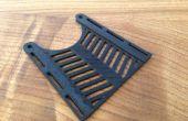 Thermoformage 3D imprimés PLA devant servir à Prostethics