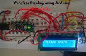 Système de panneau d'affichage en utilisant Arduino sans fil