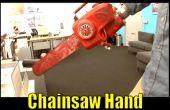 Comment : Faire un bras de la scie à chaîne