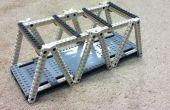 Construction d'un pont à treillis modèle