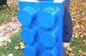 La brique LEGO homme costume Halloween