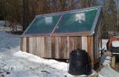 Four solaire - avec panneau solaire et révisé pour la circulation d'air correcte