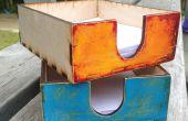 Boîte de papier brouillon - design personnalisé