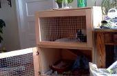 Construire une cage à lapin d'intérieur