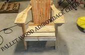 Chaise Adirondack en bois de palette