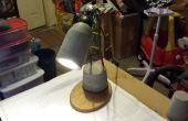 Lampe de bureau en béton