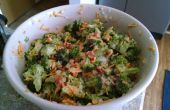Salade de brocoli aux LARDONS