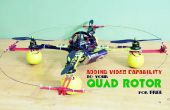 Ajouter la fonctionnalité de vidéo à votre Rotor Quad gratuite