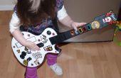Héros d'ukulélé ou un contrôleur de Guitar Hero pour les tout-petits
