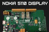 LinkIT un Nokia 5110 affichage
