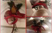 BRICOLAGE de Noël décorations de Table