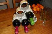 Casier à vin de tube