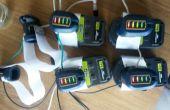 À l'aide de batteries powertool comme source d'alimentation générique pour d'autres projets