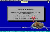 À l'aide d'une souris en QBasic programmes