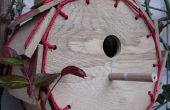 Roue à aubes paracord birdhouse