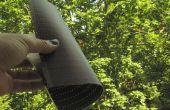Démystification (et couper à la taille) des panneaux solaires flexibles minces (Fuji F-Wave)