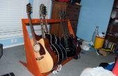 Stand de guitare en bois