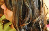 Comment parvenir à grandes boucles sur cheveux longs