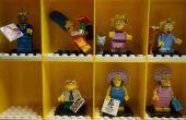 Lego Minifig vitrine mod pour minifigs Simpsons