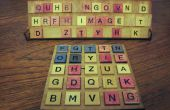 Ensemble de jeu de société « Typographie » physique