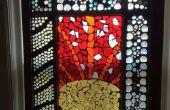 Comment faire une fenêtre en verre mosaïque