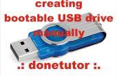 Comment créer une clé USB bootable sans utiliser aucun logiciel